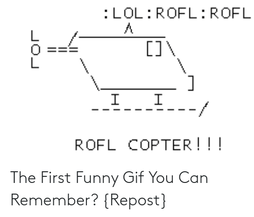 repost: The First Funny Gif You Can Remember? {Repost}