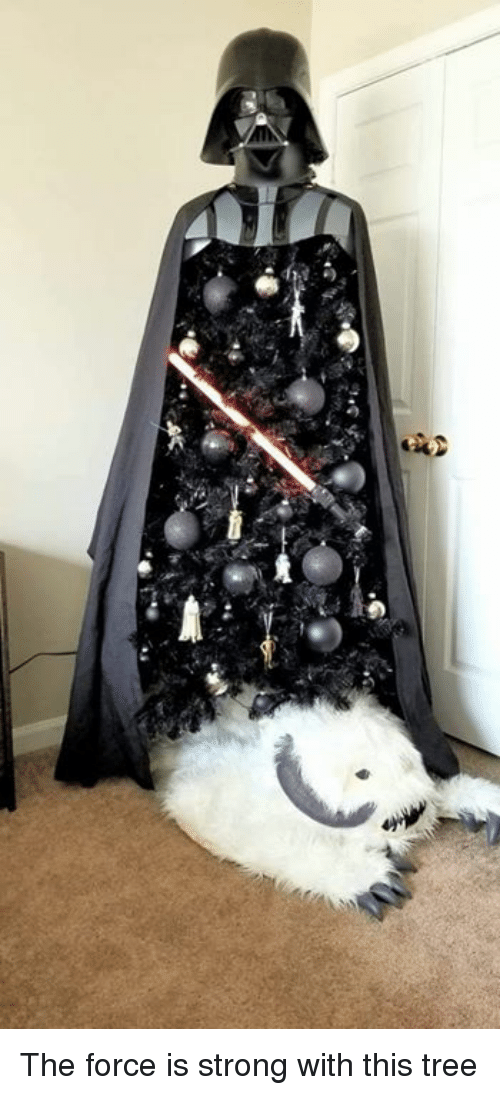 Force Is Strong: The force is strong with this tree