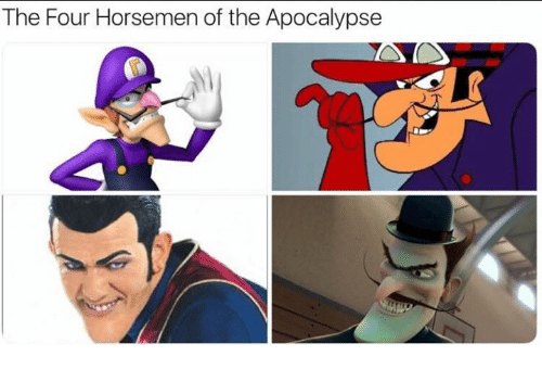 Apocalypse, Four Horsemen, and The Four: The Four Horsemen of the Apocalypse