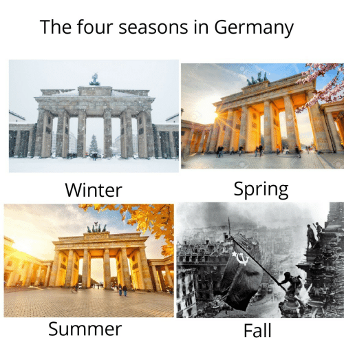 Germany: The four seasons in Germany  123R  Winter  Spring  Summer  Fall  123R
