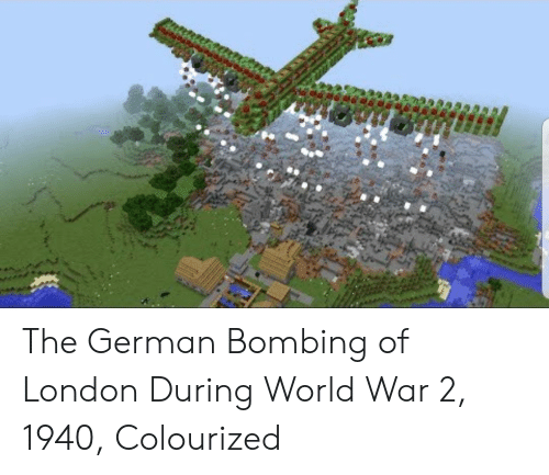 London, World, and World War 2: The German Bombing of London During World War 2, 1940, Colourized