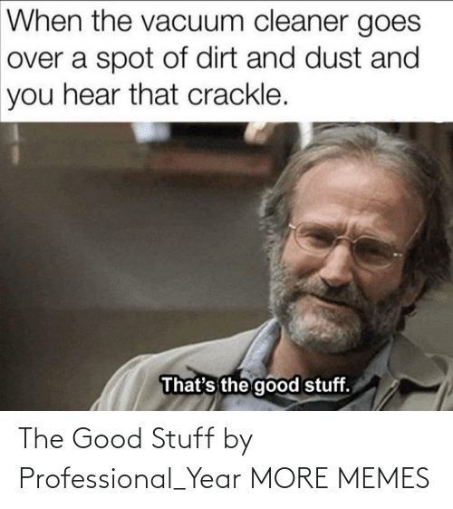 Stuff: The Good Stuff by Professional_Year MORE MEMES