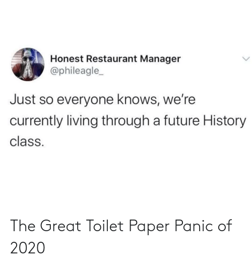 great: The Great Toilet Paper Panic of 2020