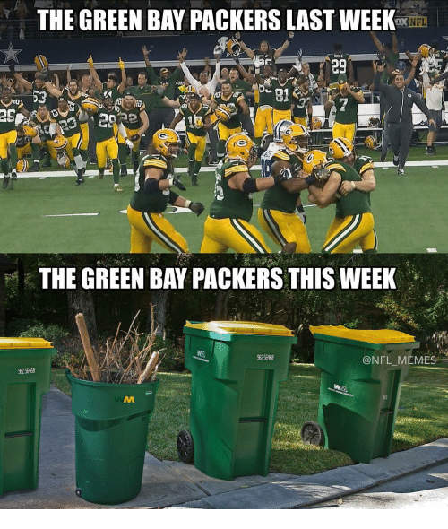 Green Bay Packers: THE GREEN BAY OX NFL  bRICE  eg  THE GREEN BAY PACKERS THIS WEEK  NFL MEMES  96256R68  96256468