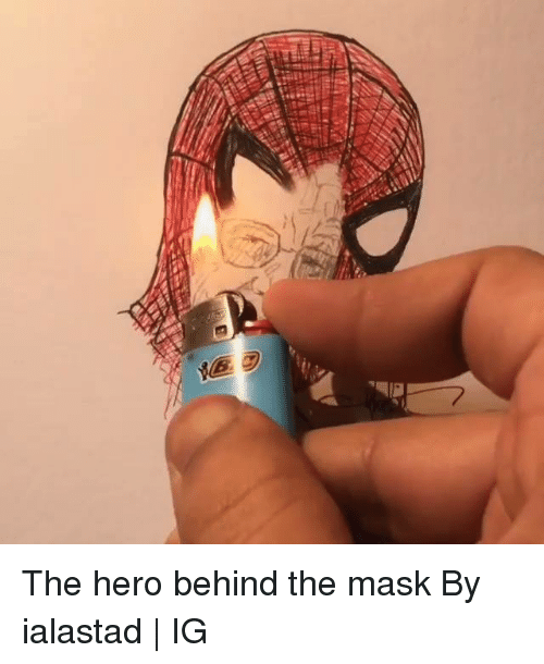 The Mask: The hero behind the mask  By ialastad | IG