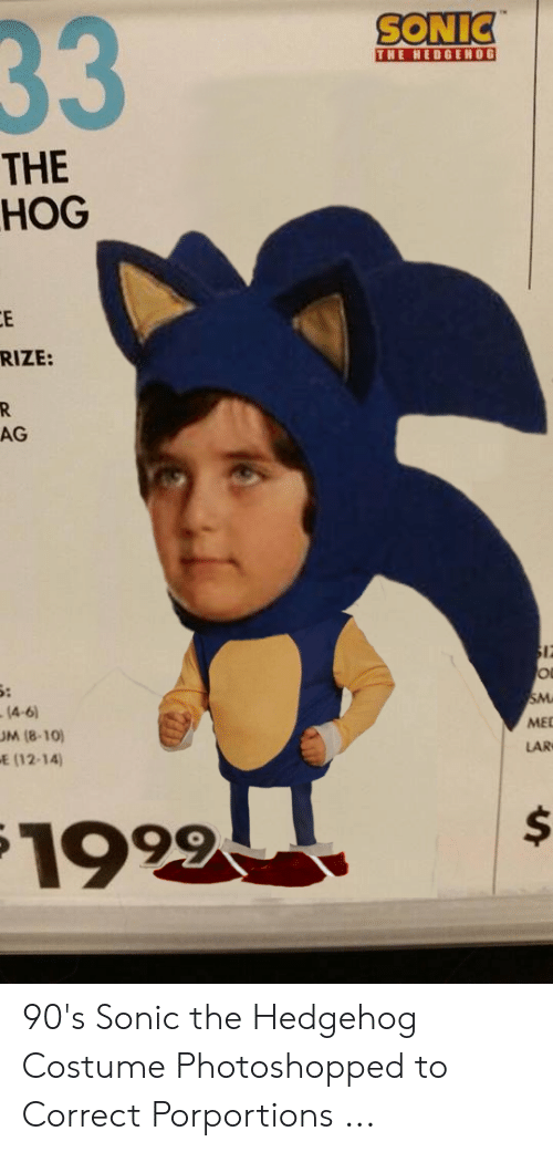 25 Best Memes About Sonic The Hedgehog Costume Sonic The Hedgehog Costume Memes