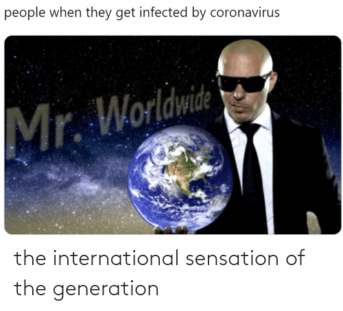 sensation: the international sensation of the generation