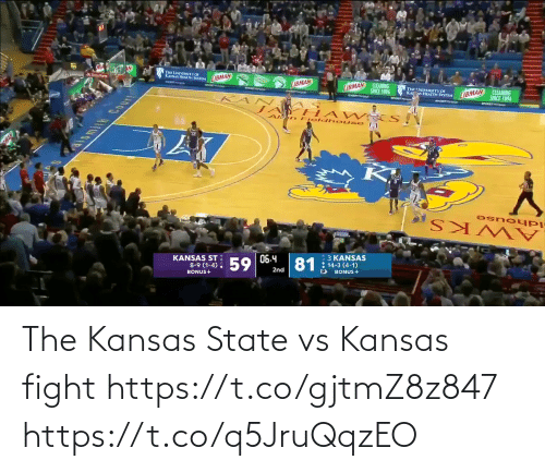 kansas: The Kansas State vs Kansas fight    https://t.co/gjtmZ8z847 https://t.co/q5JruQqzEO