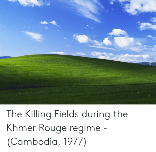 rouge: The Killing Fields during the Khmer Rouge regime - (Cambodia, 1977)