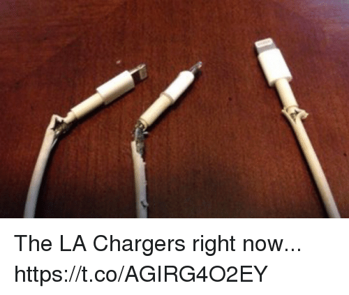 Chargers, Now, and Right Now: The LA Chargers right now... https://t.co/AGIRG4O2EY