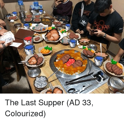 The Last Supper: The Last Supper (AD 33, Colourized)