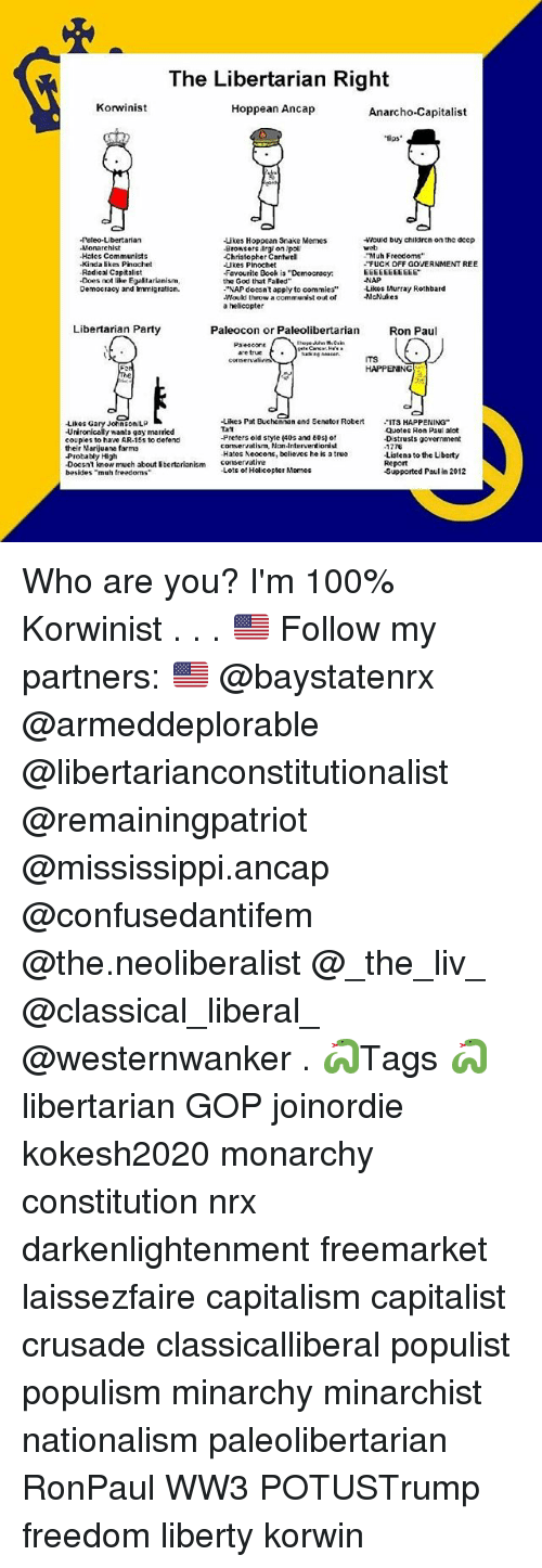 The Libertarian Right Korwinist Hoppean Ancap Anarcho Capitalist