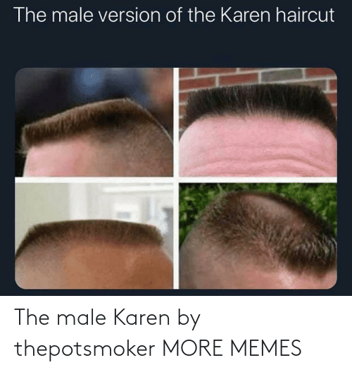 male: The male Karen by thepotsmoker MORE MEMES