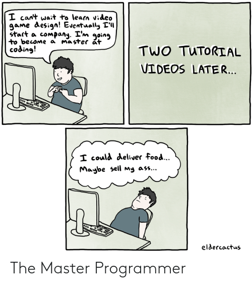 The Master, Master, and Programmer: The Master Programmer