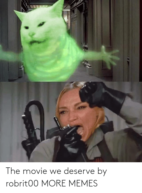 Movie: The movie we deserve by robrit00 MORE MEMES
