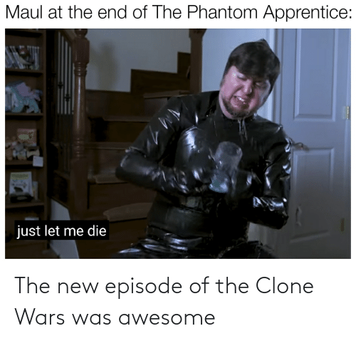 clone wars: The new episode of the Clone Wars was awesome