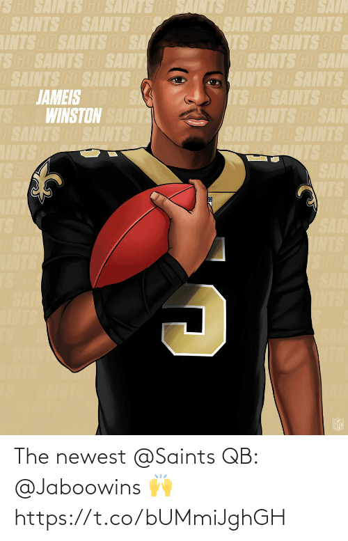 New Orleans Saints: The newest @Saints QB: @Jaboowins 🙌 https://t.co/bUMmiJghGH