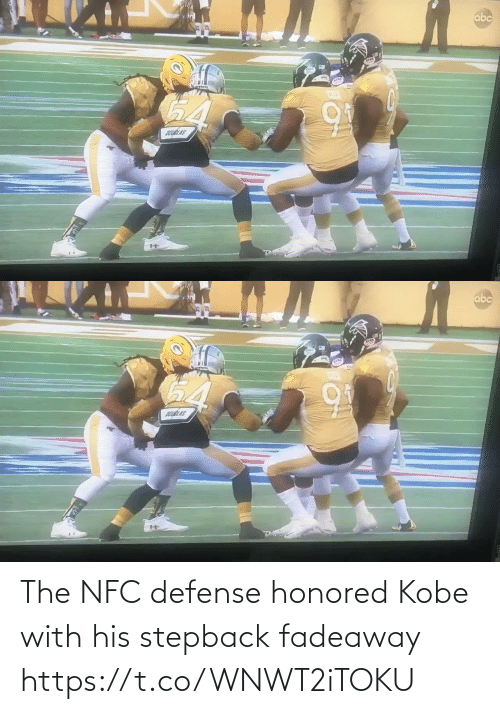 defense: The NFC defense honored Kobe with his stepback fadeaway   https://t.co/WNWT2iTOKU