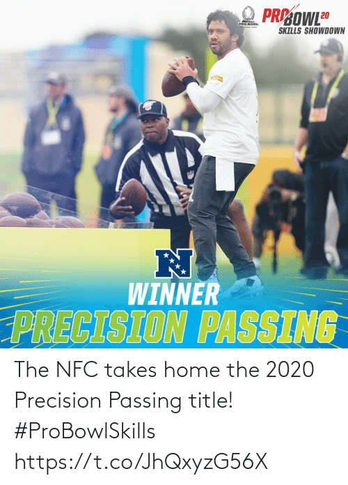 Passing: The NFC takes home the 2020 Precision Passing title! #ProBowlSkills https://t.co/JhQxyzG56X