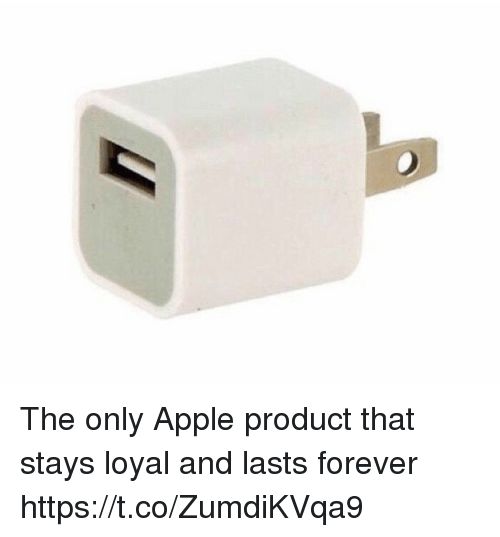 Apple, Forever, and Girl Memes: The only Apple product that stays loyal and lasts forever https://t.co/ZumdiKVqa9