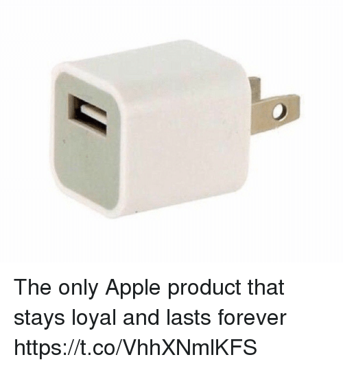 Apple, Forever, and Girl Memes: The only Apple product that stays loyal and lasts forever https://t.co/VhhXNmlKFS