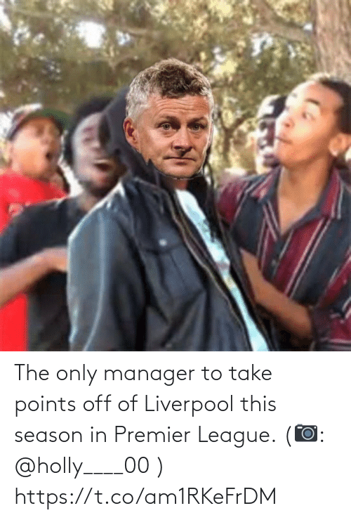 Points: The only manager to take points off of Liverpool this season in Premier League. (📷: @holly____00 ) https://t.co/am1RKeFrDM