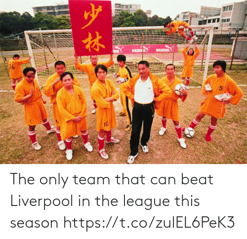league: The only team that can beat Liverpool in the league this season https://t.co/zulEL6PeK3