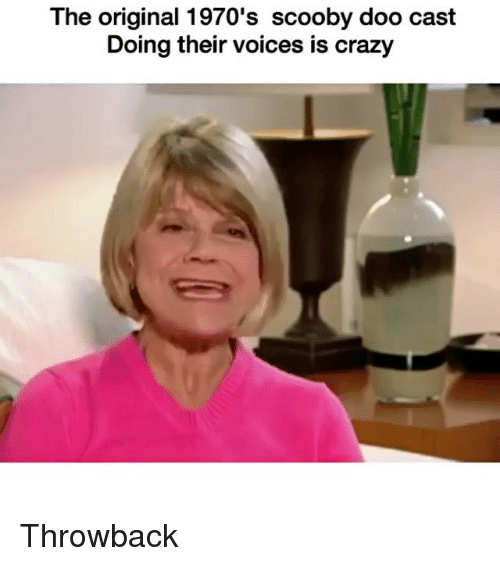 Casted: The original 1970's scooby doo cast  Doing their voices is crazy Throwback
