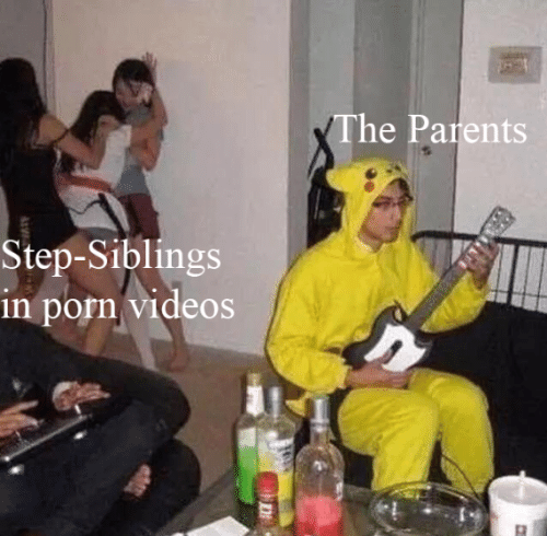 Parents, Videos, and Porn: The Parents  Step-Siblings  in porn videos