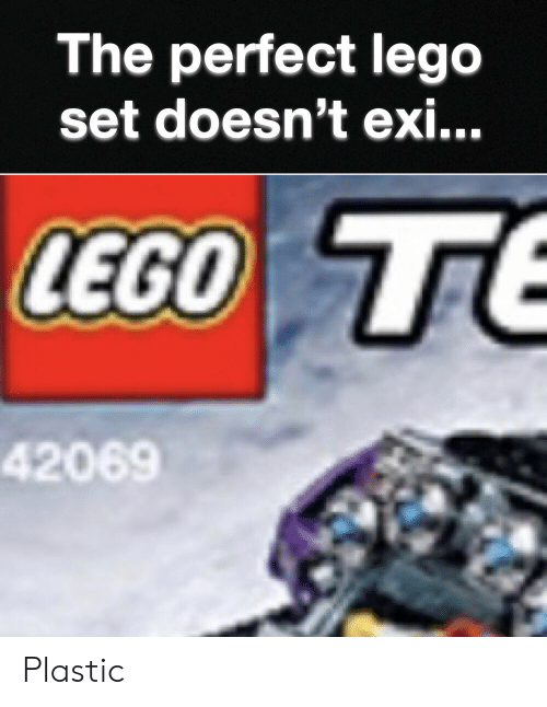 Lego, Plastic, and Set: The perfect lego  set doesn't ex...  LEGO TE  42069 Plastic