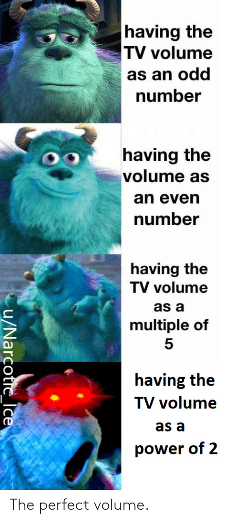 The Perfect: The perfect volume.