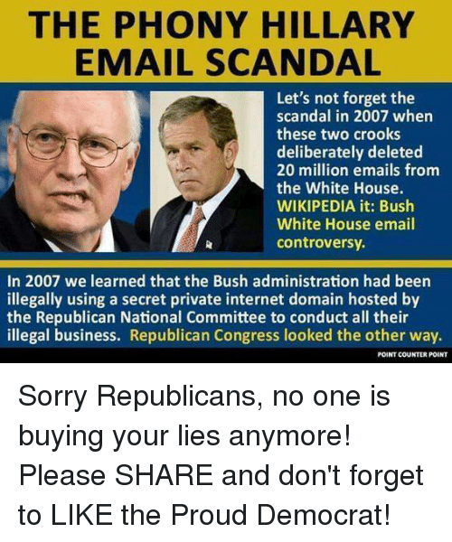 Bush White House email controversy