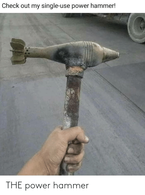 Power, Hammer, and  the Power: THE power hammer