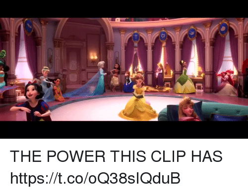 Power, Girl Memes, and This: THE POWER THIS CLIP HAS https://t.co/oQ38sIQduB