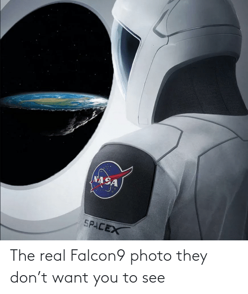 The Real: The real Falcon9 photo they don't want you to see