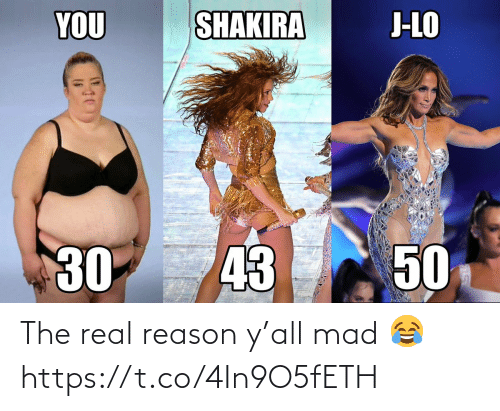 The Real: The real reason y'all mad 😂 https://t.co/4In9O5fETH