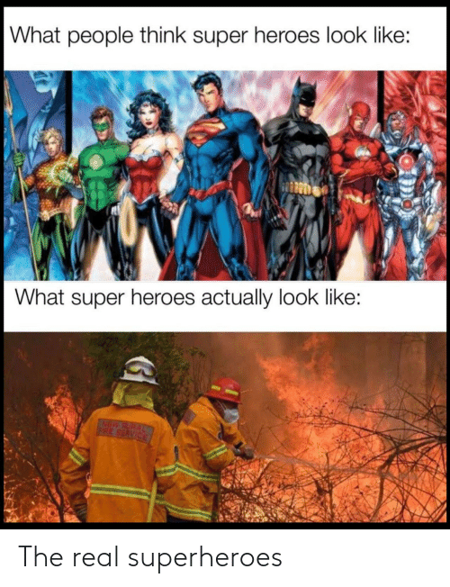 The Real: The real superheroes