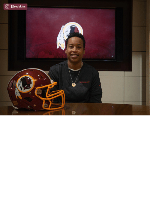 Have: The Redskins have named Jennifer King as a full-year coaching intern. King is the first full season African American female coach in the NFL. (via @redskins) https://t.co/OuD411hqSr