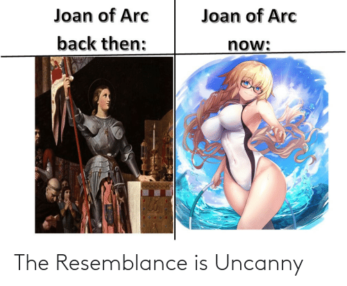 resemblance: The Resemblance is Uncanny
