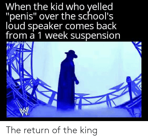 Return: The return of the king