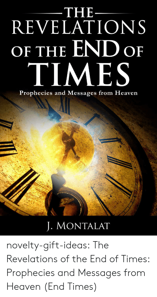 Amazon, Heaven, and Tumblr: THE  REVELATIONS  OF THE END o  TIMES  Prophecies and Messages from Heaven  J. MONTALAT novelty-gift-ideas:  The Revelations of the End of Times: Prophecies and Messages from Heaven (End Times)
