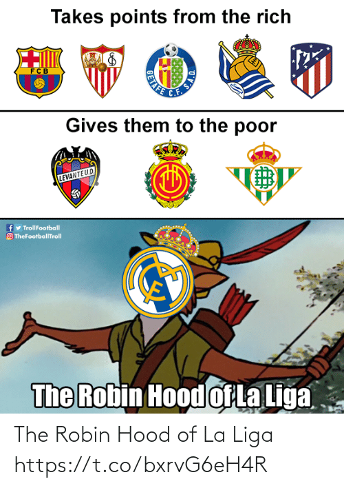 liga: The Robin Hood of La Liga https://t.co/bxrvG6eH4R