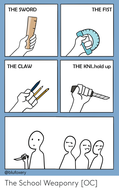 School: The School Weaponry [OC]