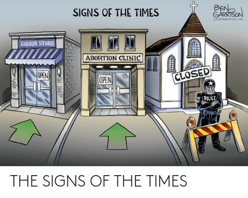 the times: THE SIGNS OF THE TIMES