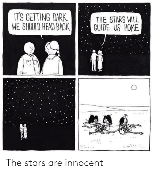 Stars: The stars are innocent