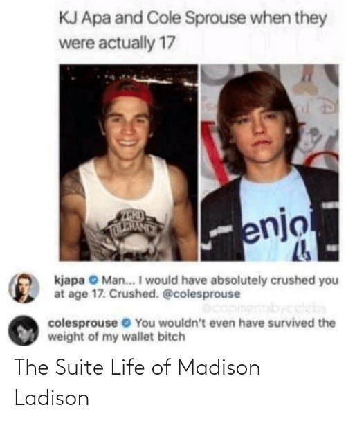 suite life: The Suite Life of Madison Ladison