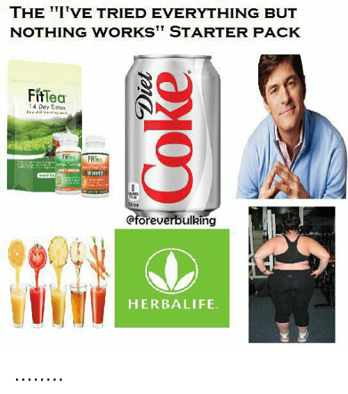 Herbalife, Starter Pack, and Day: THE TI'VE TRIED EVERYTHING BUT  NOTHING WORKST STARTER PACK  FifTea  14 Day Datox  eforeverbulking  HERBALIFE ........