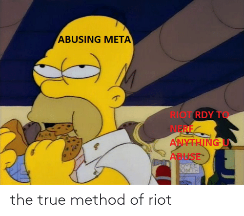 riot: the true method of riot