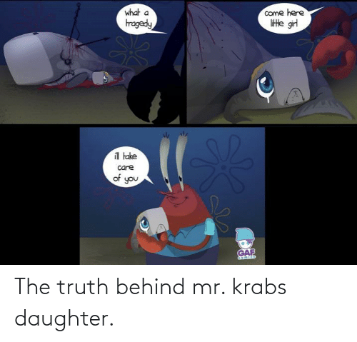 Mr. Krabs: The truth behind mr. krabs daughter.