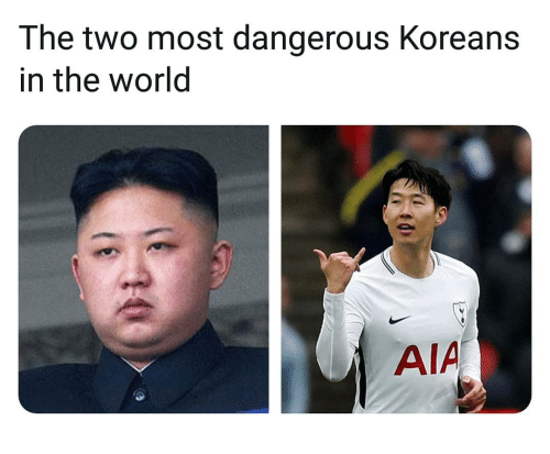 aia: The two most dangerous Koreans  in the world  AIA